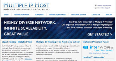 Multiple IP Host
